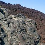 lava in Hawaii Volcanoes National Park
