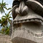 tiki carving at Puuhonua o Honaunau