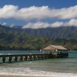 Hanalei Bay pier on Kauai