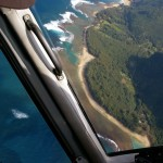 Helicopter view on Kauai