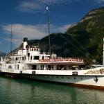 Vierwaldstattersee lake steamer