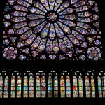 Notre Dame stained glass