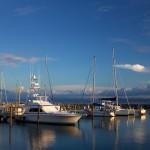 boats in Samana harbor