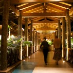entryway to Balcones del Atlantico