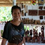 woman at a market