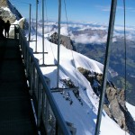 View from Sphinx Terrace at Jungfraujoch