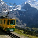Jungfrau region train