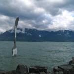Vevey Fork in Lake Geneva