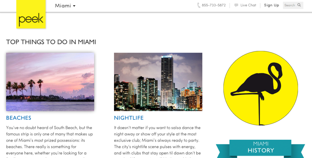 Peek Travel Guide: Top Things to Do in Miami