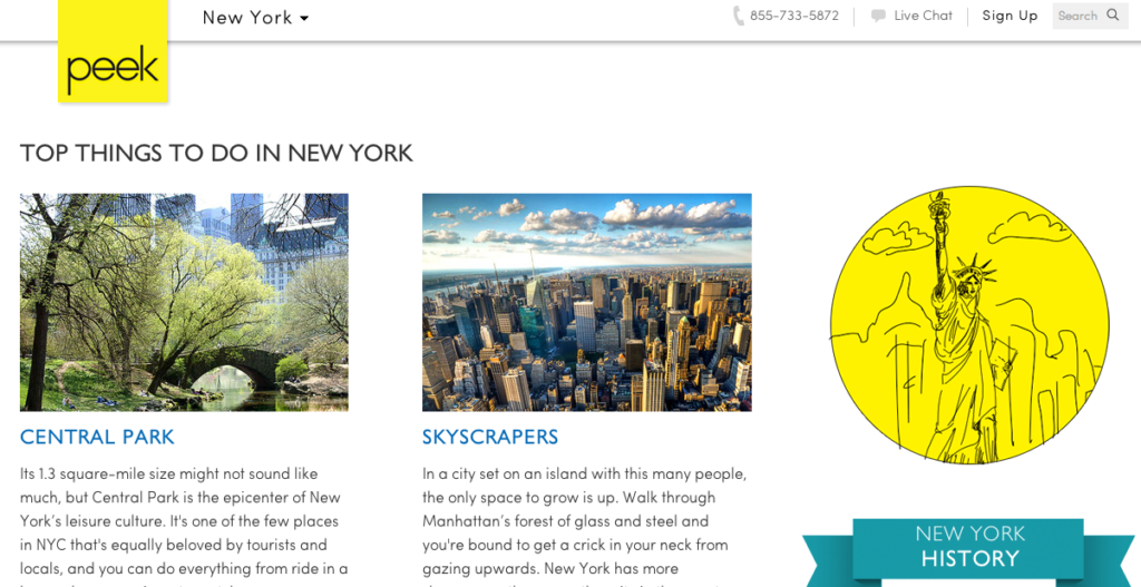 Peek Travel Guide: Top Things to Do in New York City