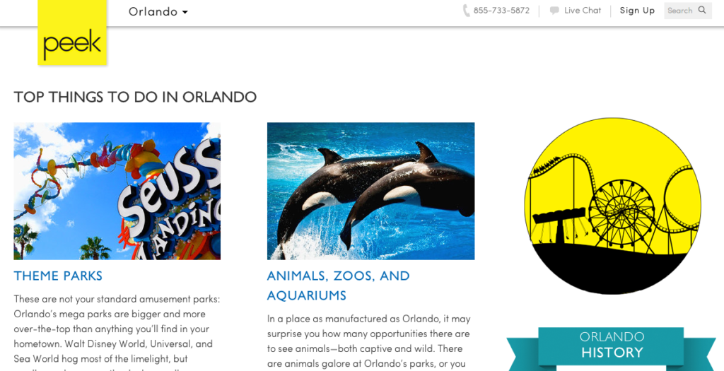 Peek Travel Guide: Top Things to Do in Orlando