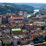 Veste Oberhaus view passau germany