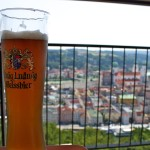 Beer overlooking passau