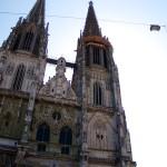 regensburg cathedral facade