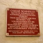 Oskar Schindler's home after WW2 regensburg