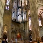 Inside the cathedral regensburg