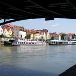 danube river regensburg germany