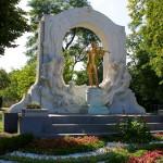 Johann Strauss gold statue vienna