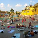 Budapest baths Széchenyi thermal