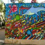 Ipanema colorful mural