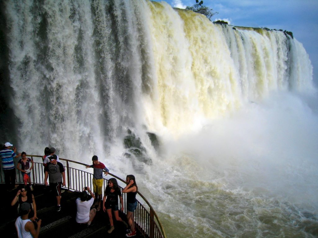 Video: Boat Ride Under Iguazu Falls