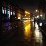 Rainy Dublin night
