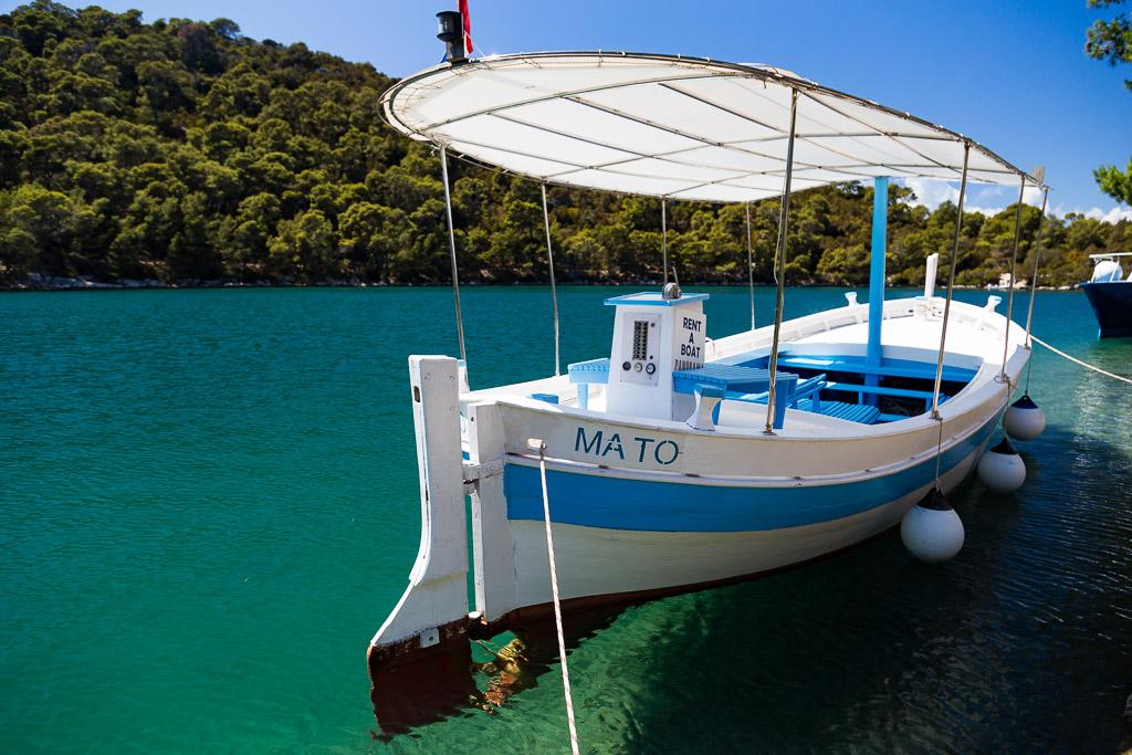 Mljet charter boat